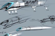 Hyperloop alpha skica kapsule