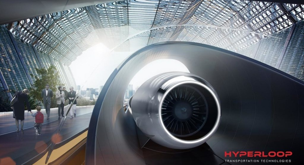 Hyperloop Transportation Technologies abu dhabi al ain