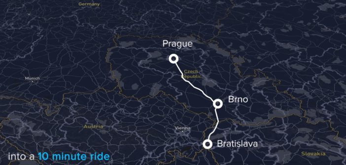 hyperloop brno